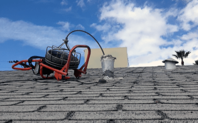 Roof Vent Drain Cleaning