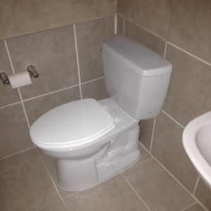 Toilet Installation by Jason the Plumber