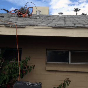 Roof Vent Drain Cleaning by Jason the Plumber