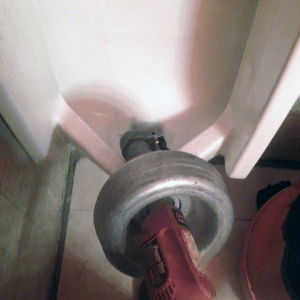 Urinal Snaking by Jason the Plumber