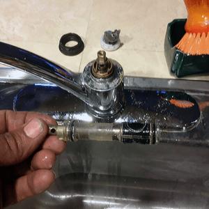 Moen Kitchen Faucet Repair by Jason the Plumber